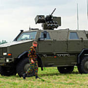 The Dingo II In Use By The Belgian Army Poster