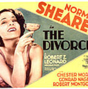The Divorcee, Norma Shearer, 1930 Poster by Everett