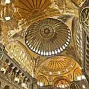 The Dome Of Hagia Sophia Poster