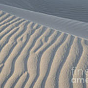 The Edge Of Sand Poster by Ron Hoggard