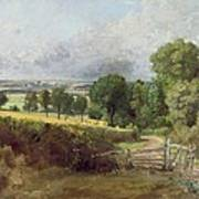 The Entrance To Fen Lane By Constable John Poster by John Constable