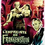 The Evil Of Frankenstein Aka Lempreinte Poster