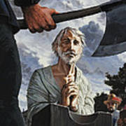 The Execution Of Walter Raleigh Poster