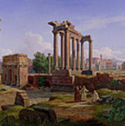 The Forum Rome  Poster