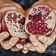 The Fruit Of Jesus' Sacrifice II Poster by Ilse Kleyn