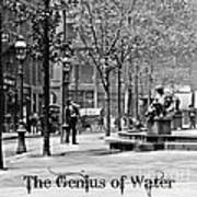 The Genius Of Water 1906 Poster by Padre Art