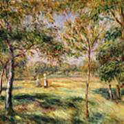The Glade Poster by Pierre Auguste Renoir