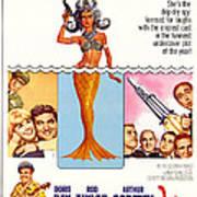 The Glass Bottom Boat, Edward Andrews Poster by Everett