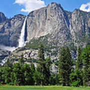 The Grandeur Of Yosemite Falls Poster