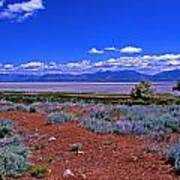 The Great Salt Lake From Antelope Island Poster