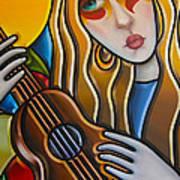 The Guitar Girl Poster