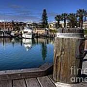 The Harbour At Mindarie Poster