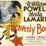 The Heavenly Body, Hedy Lamarr, William Poster by Everett