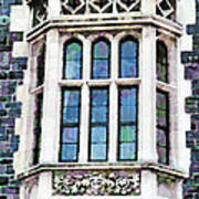 The Heritage Windows Of The Teachers' College Poster