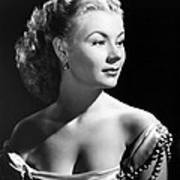 The I Dont Care Girl, Mitzi Gaynor Poster by Everett