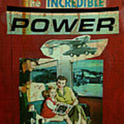 The Incredible Power Minor Poster by Adam Kissel