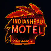 The Indianhead Poster