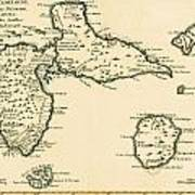 The Islands Of Guadeloupe Poster