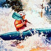 The Kayak Racer 18 Poster