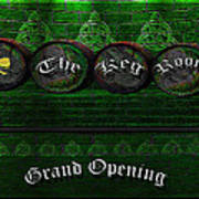 The Keg Room Grand Opening Version 3 Poster