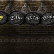 The Keg Room Version 1 Poster by LeeAnn McLaneGoetz McLaneGoetzStudioLLCcom