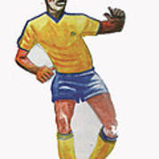 The King Pele Poster