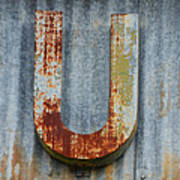 The Letter U Poster