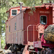 The Little Red Caboose Poster