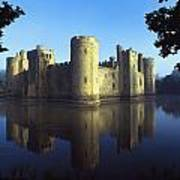 The Majestic Bodiam Castle And Its Poster