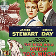 The Man Who Knew Too Much, Top Poster by Everett