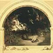 The Midsummer Night's Fairies Poster by Robert Huskisson