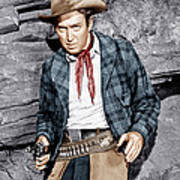 The Naked Spur, James Stewart, 1953 Poster by Everett