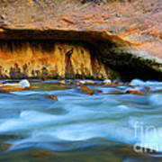 The Narrows Virgin River Zion 4 Poster