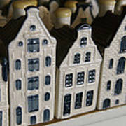The Netherlands, Amsterdam, Model Houses Poster