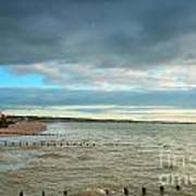 The North Bay Bridlington From The North Pier Poster