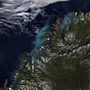 The Norwegian Sea Poster by Stocktrek Images