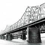The Old Bridges At Memphis Poster
