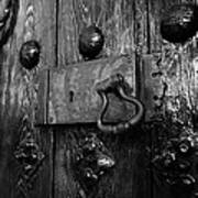 The Old Church Door Poster