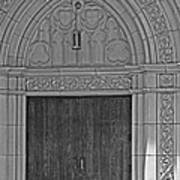 The Old Church Doors Poster
