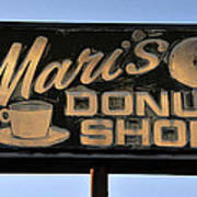 The Old Donut Shop Poster
