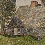 The Old Mulford House Poster by Childe Hassam