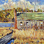 The Old Relic - Plein Air Poster