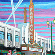 The Pantages Theatre Poster