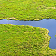 The Pantanal Seen From The Sky Vii Poster
