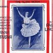 The Pavlowa Gavotte Poster