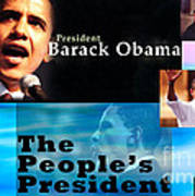 The People's President Poster by Terry Wallace