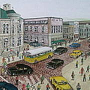 The Portsmouth Ohio Post Office On The Esplanade 1948 Poster