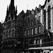 The Quaker Meeting House On Victoria Street Edinburgh Scotland Uk United Kingdom Poster