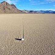 The Racetrack Playa Poster