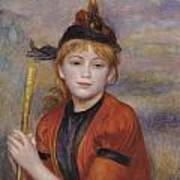 The Rambler Poster by Pierre Auguste Renoir